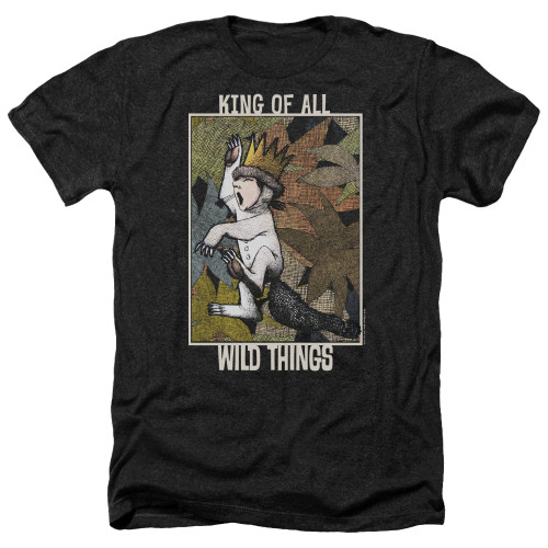 Image for Where the Wild Things Are Heather T-Shirt - King of All Wild Things