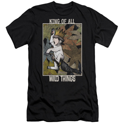 Image for Where the Wild Things Are Premium Canvas Premium Shirt - King of All Wild Things
