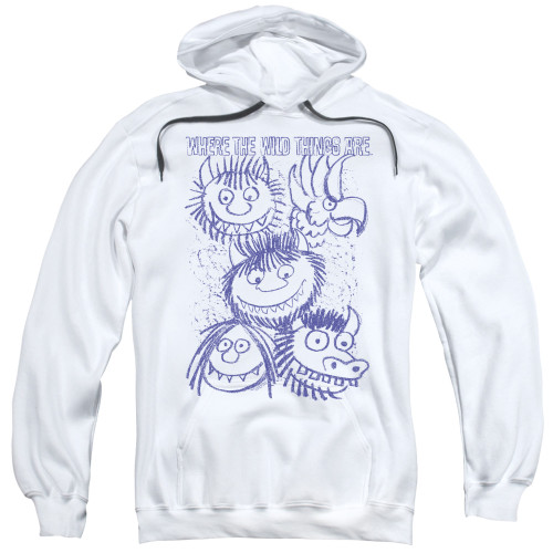 Image for Where the Wild Things Are Hoodie - Wild Sketch