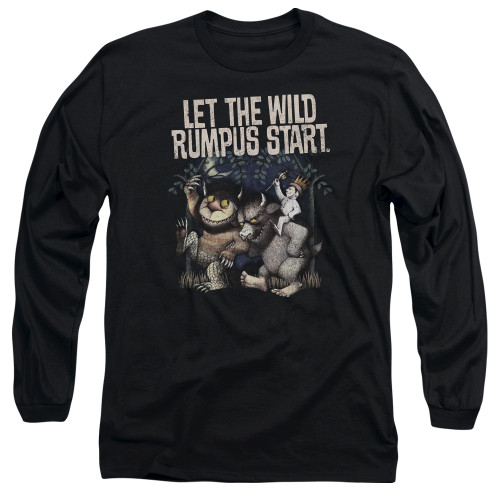 Image for Where the Wild Things Are Long Sleeve Shirt - Wild Rumpus