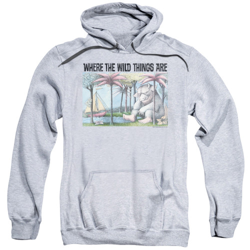 Image for Where the Wild Things Are Hoodie - Cover Art