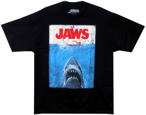 Image for Jaws T-Shirt - Classic Poster