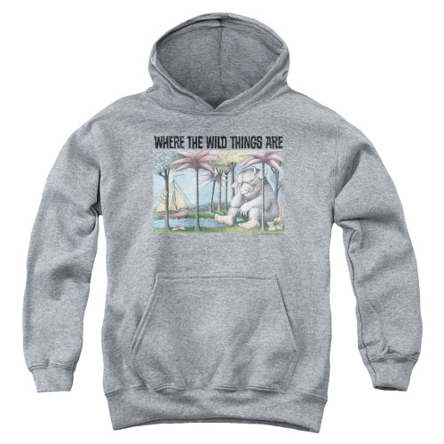 Image for Where the Wild Things Are Youth Hoodie - Cover Art
