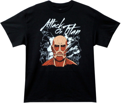 Image for Attack on Titan T-Shirt - Dark Titan Group
