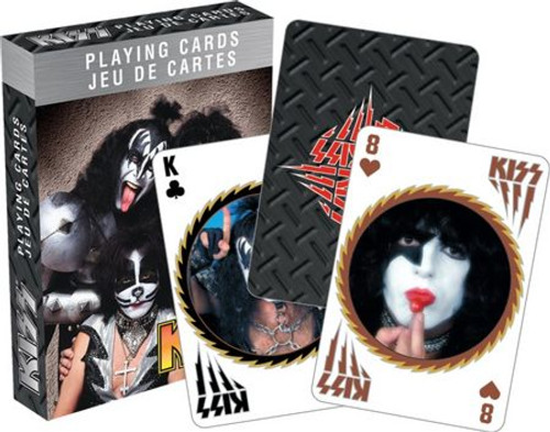 Image for Kiss Playing Cards - The Band