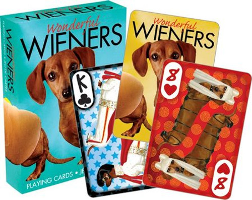 Image for Wiener Dogs Playing Cards