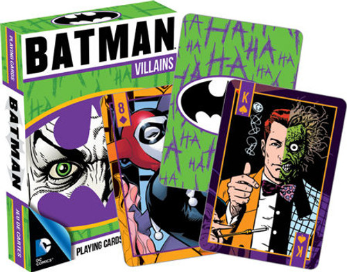 Image for Batman Villains DC Playing Cards