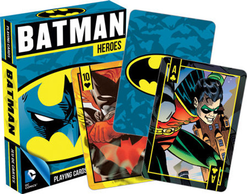 Image for Batman Heroes DC Playing Cards