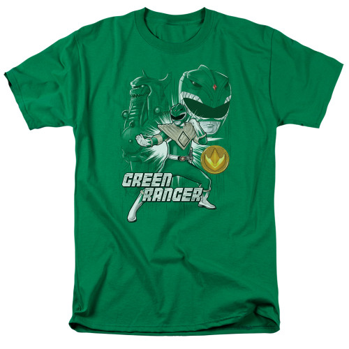Image for Mighty Morphin Power Rangers T-Shirt - Green Ranger