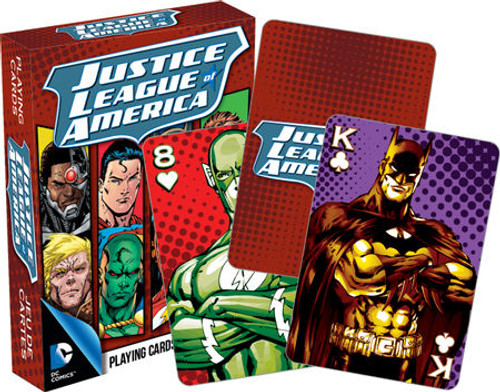 Image for Justice League of America Playing Cards