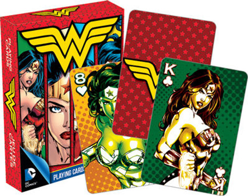 Image for Wonder Woman DC Playing Cards