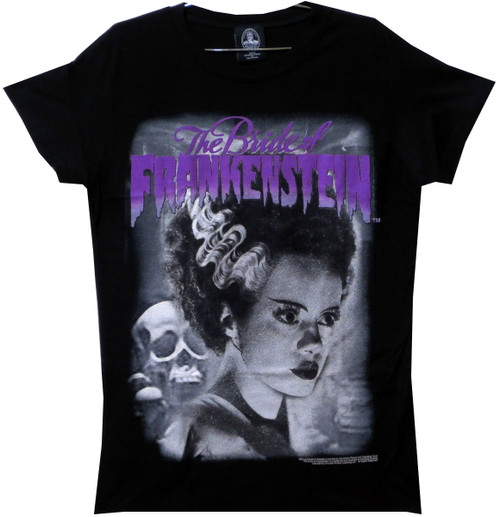 Image for Bride of Frankenstein Girls T-Shirt - The Perfect Bride