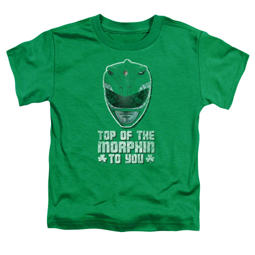 Image for Power Rangers Toddler T-Shirt - Top of the Morphin to You