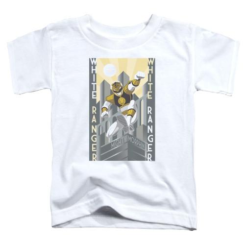 Image for Power Rangers Toddler T-Shirt - White Ranger Duo
