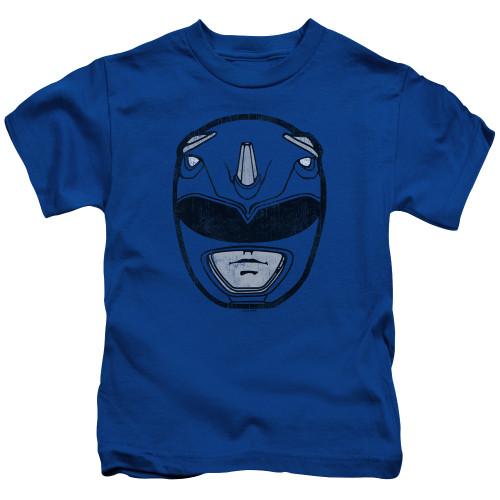 Image for Power Rangers Kids T-Shirt - Blue Ranger Mask