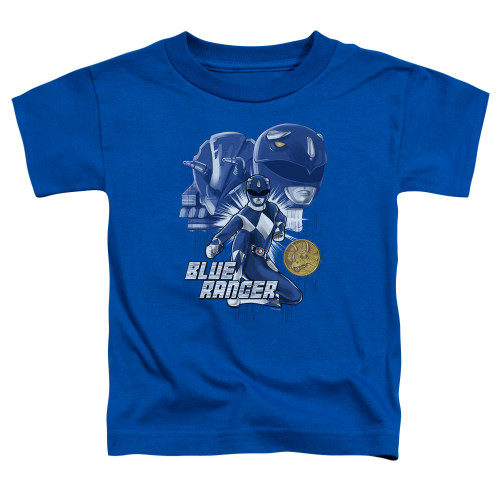 Image for Power Rangers Toddler T-Shirt - Blue Ranger