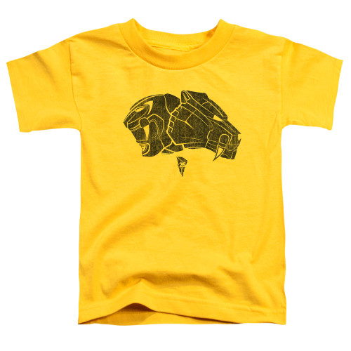 Image for Power Rangers Toddler T-Shirt - Yellow