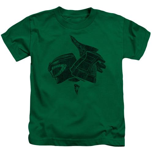 Image for Power Rangers Kids T-Shirt - Green