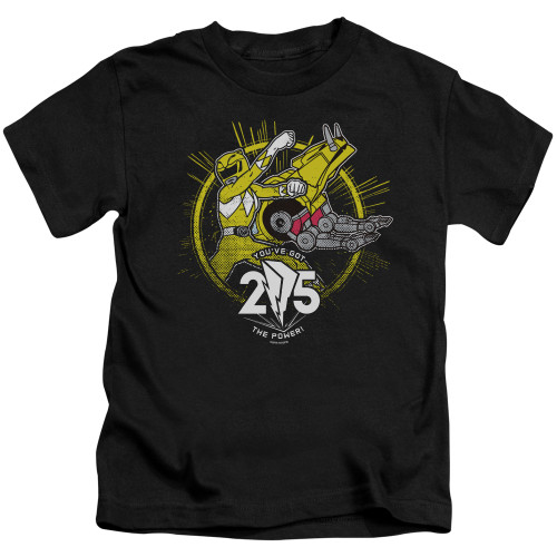 Image for Power Rangers Kids T-Shirt - Yellow 25