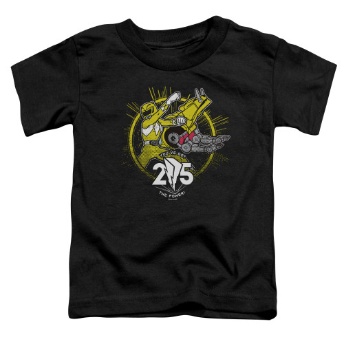 Image for Power Rangers Toddler T-Shirt - Yellow 25
