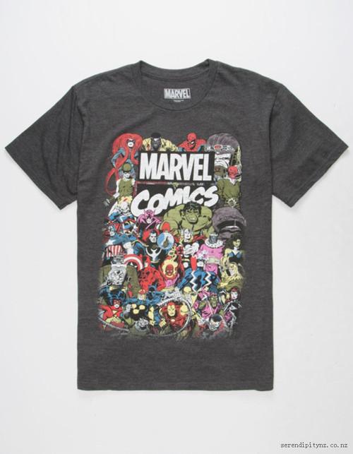 Image for Marvel T-Shirt - Big Crowd