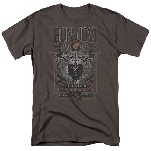 Image for Bon Jovi T-Shirt - Keep the Faith