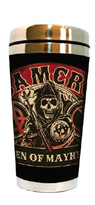 Image for Sons of Anarchy Plastic Travel Mug - SAMCRO