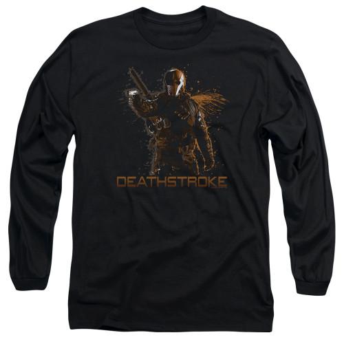 Image for Arrow Long Sleeve T-Shirt - Deathstroke
