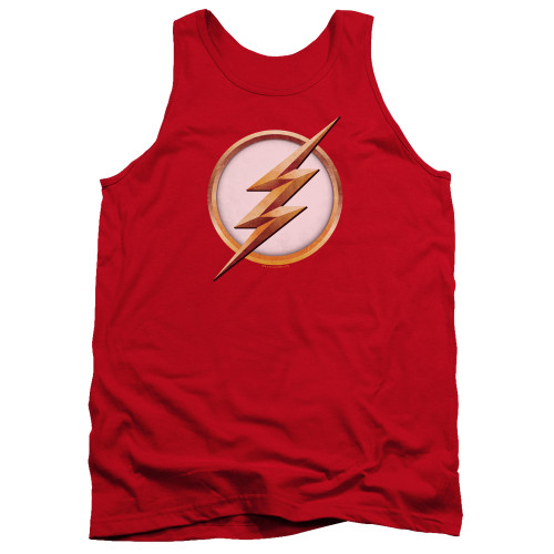 Image for The Flash TV Tank Top - Season 4 Logo