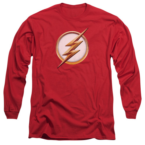 Image for The Flash TV Long Sleeve T-Shirt - Season 4 Logo