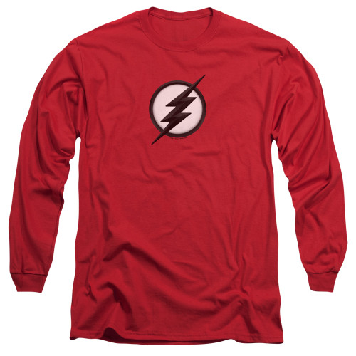 Image for The Flash TV Long Sleeve T-Shirt - Jesse Quick Logo