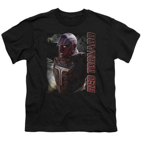 Image for Supergirl Youth T-Shirt - Red Tornado