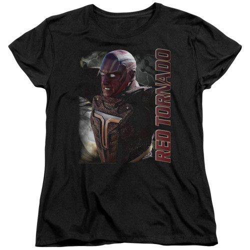 Image for Supergirl Woman's T-Shirt - Red Tornado