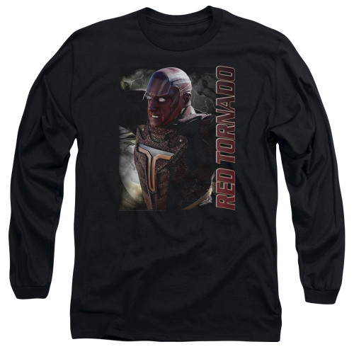 Image for Supergirl Long Sleeve T-Shirt - Red Tornado