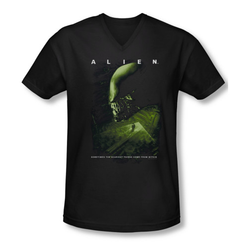 Image for Alien T-Shirt - V Neck - Lurking
