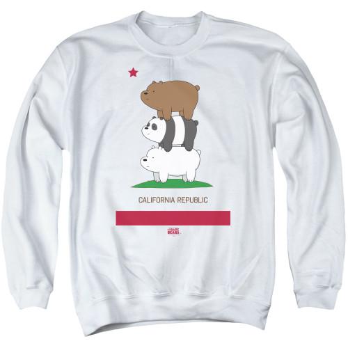 Image for We Bare Bears Crewneck - Cali Stack