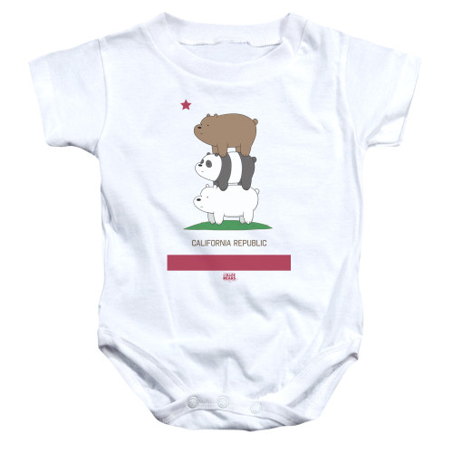 Image for We Bare Bears Baby Creeper - Cali Stack
