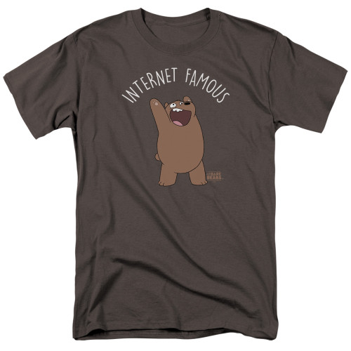 Image for We Bare Bears T-Shirt - Internet Famous