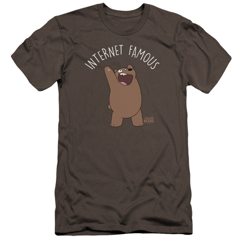 Image for We Bare Bears Premium Canvas Premium Shirt - Internet Famous