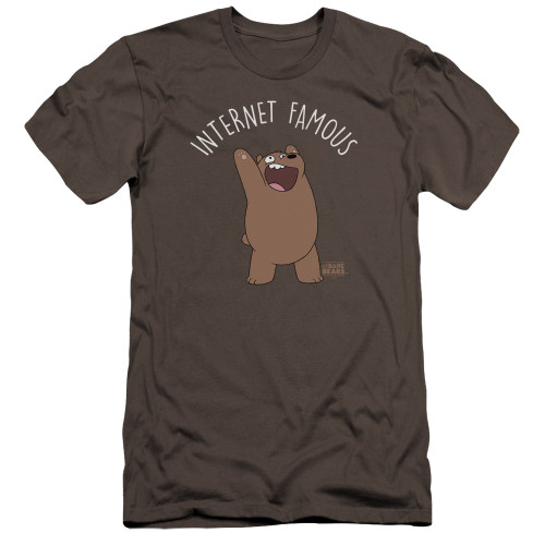 Image for We Bare Bears Premium Canvas Premium Shirt - Internet Famous