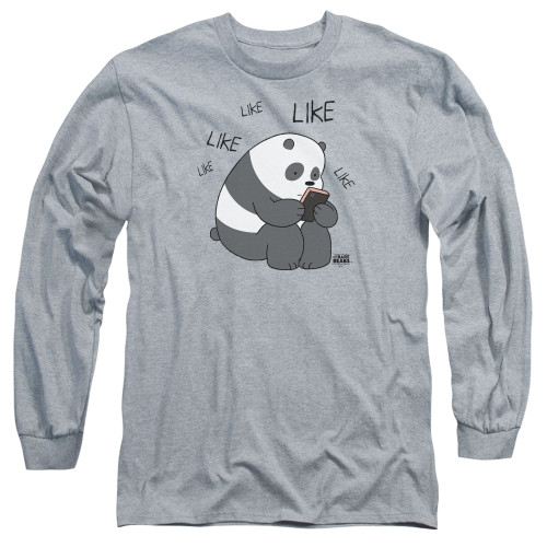Image for We Bare Bears Long Sleeve Shirt - Like Like Like