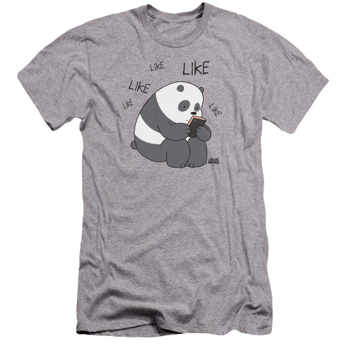 Image for We Bare Bears Premium Canvas Premium Shirt - Like Like Like