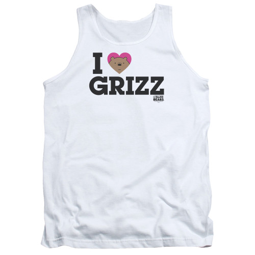 Image for We Bare Bears Tank Top - I Heart Grizz