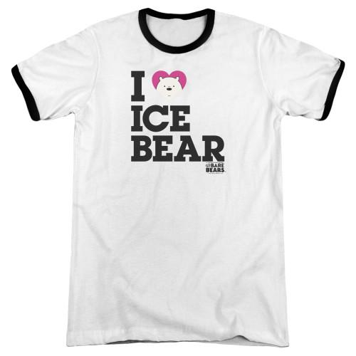 Image for We Bare Bears Ringer - I Heart Ice Bear