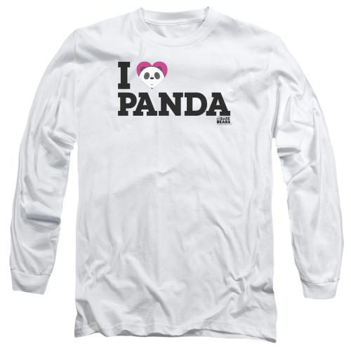 Image for We Bare Bears Long Sleeve Shirt - I Heart Panda