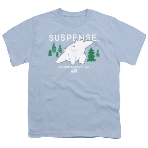 Image for We Bare Bears Youth T-Shirt - Suspense