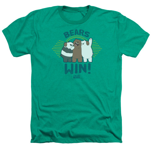 Image for We Bare Bears Heather T-Shirt - Bears Win
