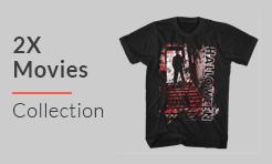 2X Movies T-Shirts