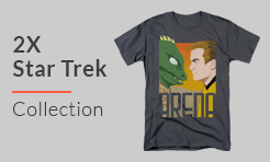 2X Shirts from Star Trek