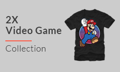 2XL T Shirts from Video Games